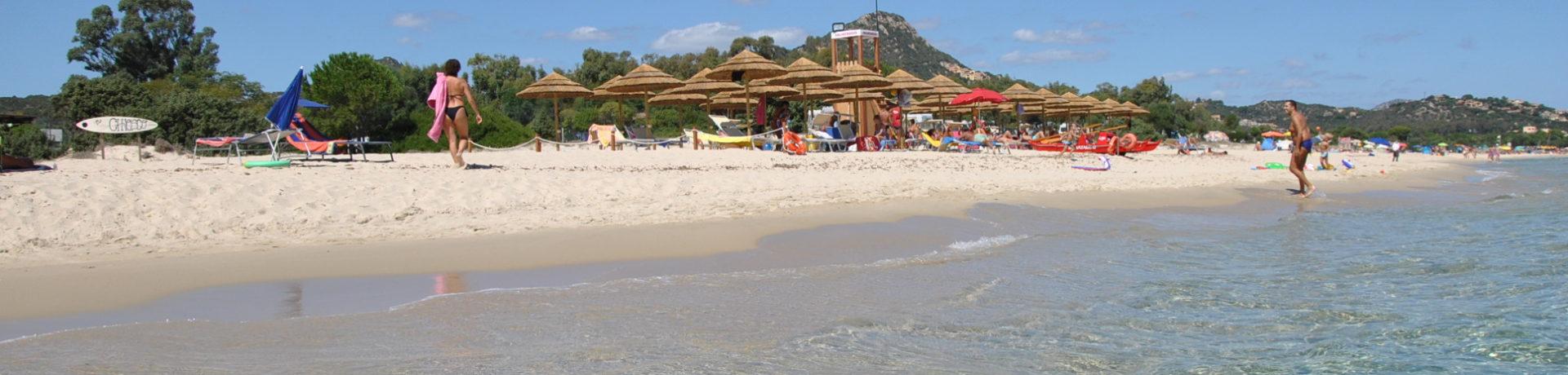 Camping Village Capo Ferrato in Muravera op Sardinië is een charmecamping in Italië aan zee met uitzicht op de kust van Costa Rei.